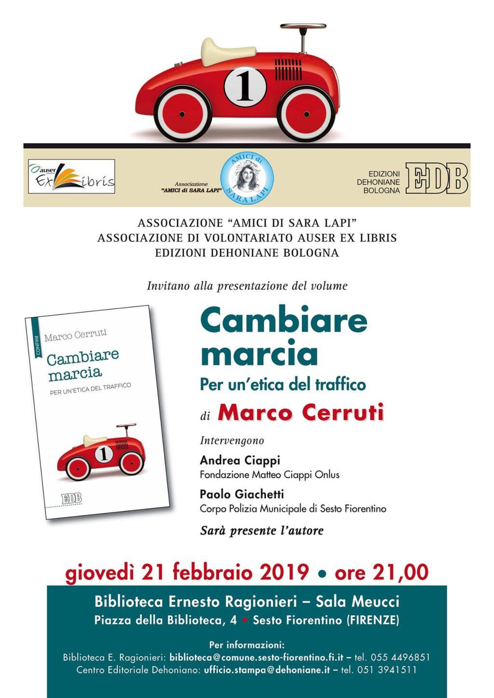Presentazione libro del 21 Febbraio 2019 - Fondazione Matteo Ciappi